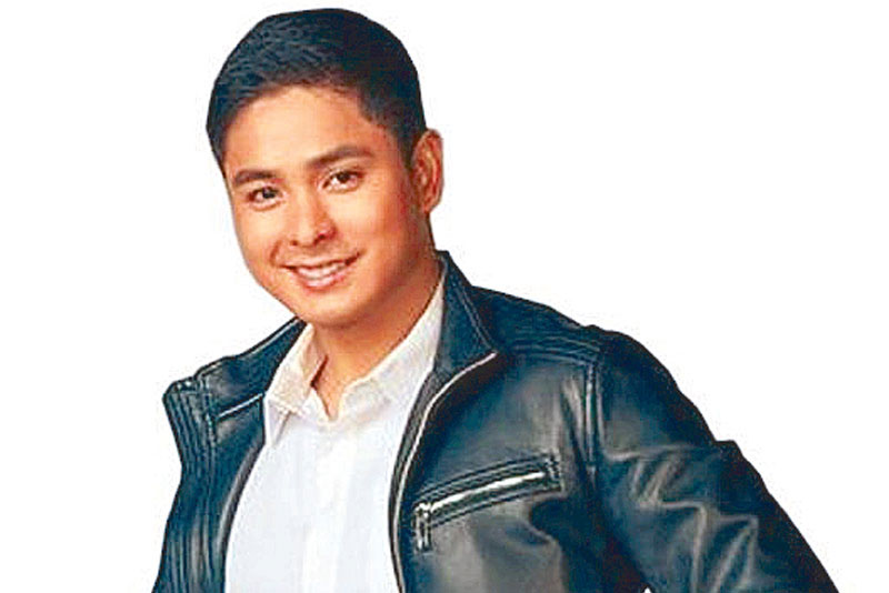 Coco Martin, star of the top-rating (consistently over 40 percent) Kapamilya action-adventure series: FPJ is guiding me