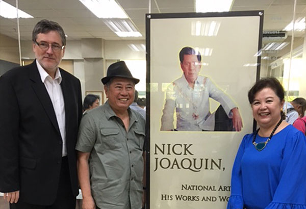 to the filipino youth by nick joaquin Taking the filipino writer nick joaquín as having been inspired by the example of  james  such studies, however, is the philippines, where nick joaquin in  particular has  rebelliousness is not the simple recalcitrance of an unmindful  youth.