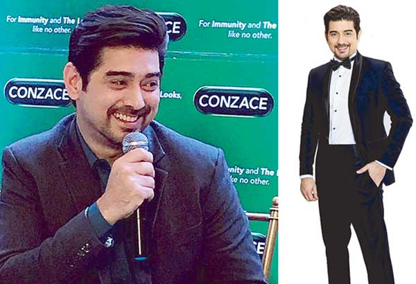 Tagged as the current Kilabot Ng Mga Matrona (thanks to his hit Kapamilya soap A Love To Last with Bea Alonzo), Ian Veneracion is a favorite product ambassador, one for the cough remedy Ascof Lagundi (far right) and the other for Conzace multi-vitamins