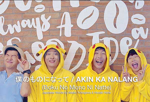 Aisaku turns Pinoy tunes into Japanese