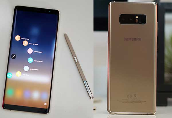 Samsung Galaxy Note8 Is Gorgeous