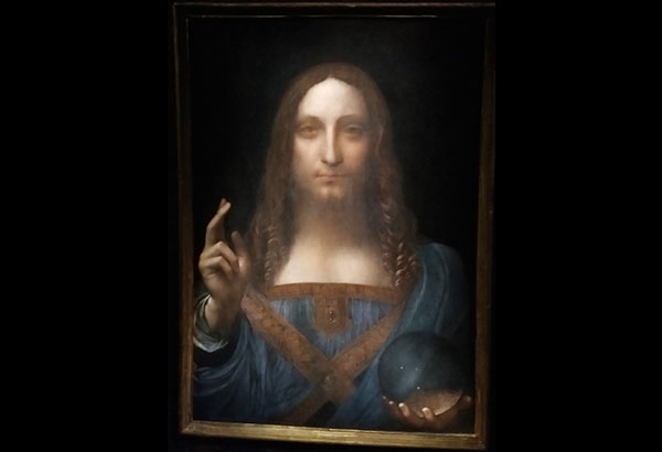 Leonardo da Vinci's 'Salvator Mundi' sold for whopping $450.3 million at Christie's