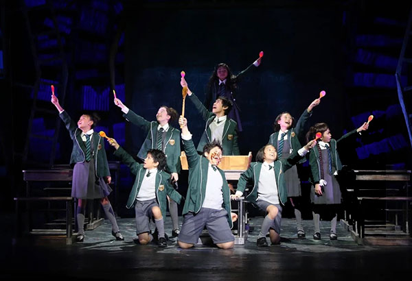 Youth in revolt: Children cast members of Atlantis Productions' Matilda: The Musical