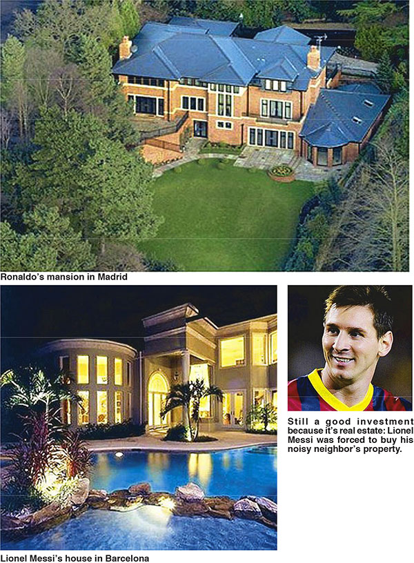 Invest in real estate like world cup stars ronaldo messi philstar com