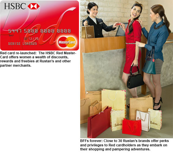 Meet your new BFF: HSBC Red MasterCard redux | Philstar com