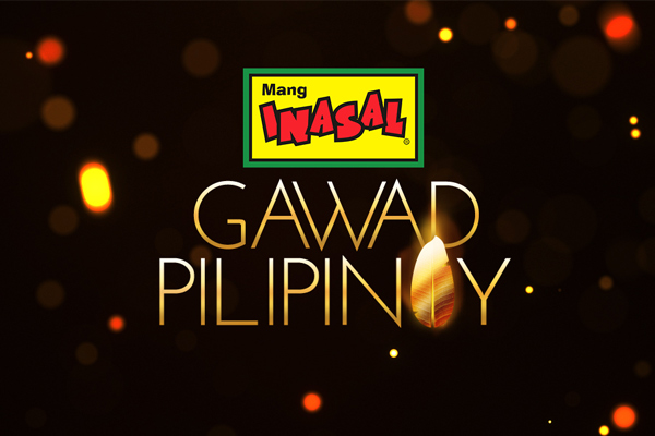 GawadPilipinoyseeks to recognize outstanding individuals who share their talents to the community through a selfless advocacy.Mang Inasal/Released