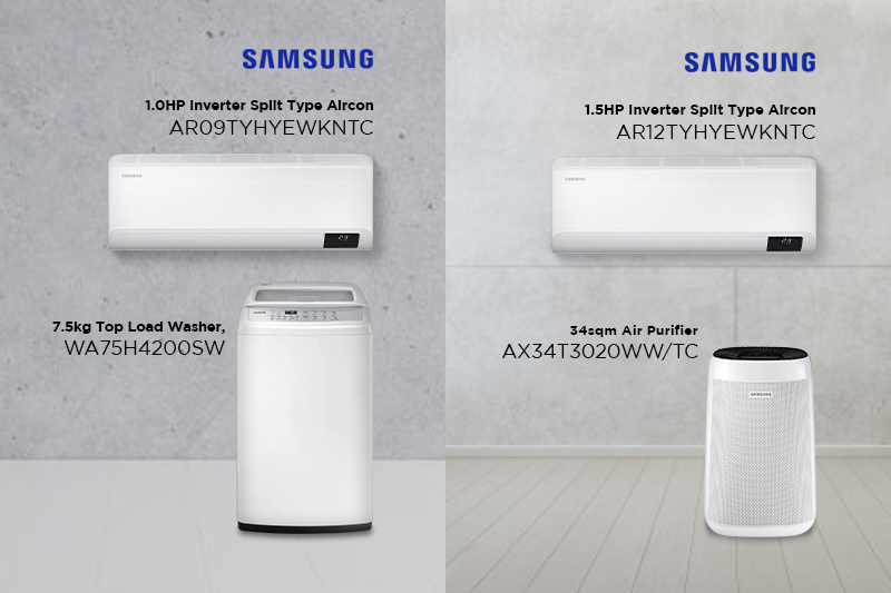 Get a fresh start this 2021 with 5 new appliances for your home