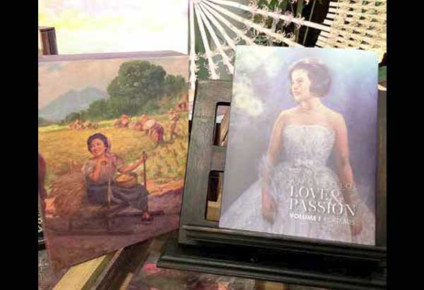 Amorsolo: Love & Passion, the two-volume mini-coffeetable book, is now available at Rustan's Makati, Rustan's Shangri-La, Rustan's Gateway and Rustan's Alabang.