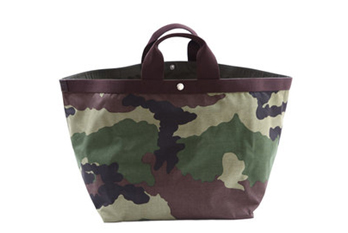 bc91e5ca80 To celebrate the luxury of the revolutionized women, Herve Chapelier  unleashed a battalion of camo-print totes, found in variety of shapes, ...