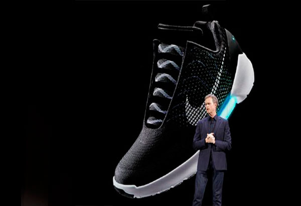 nike unveils its self lacing sneaker fashion and