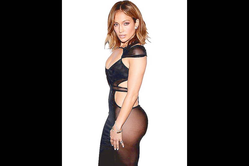 J. Lo shows off the butt that launched a thousand implants.