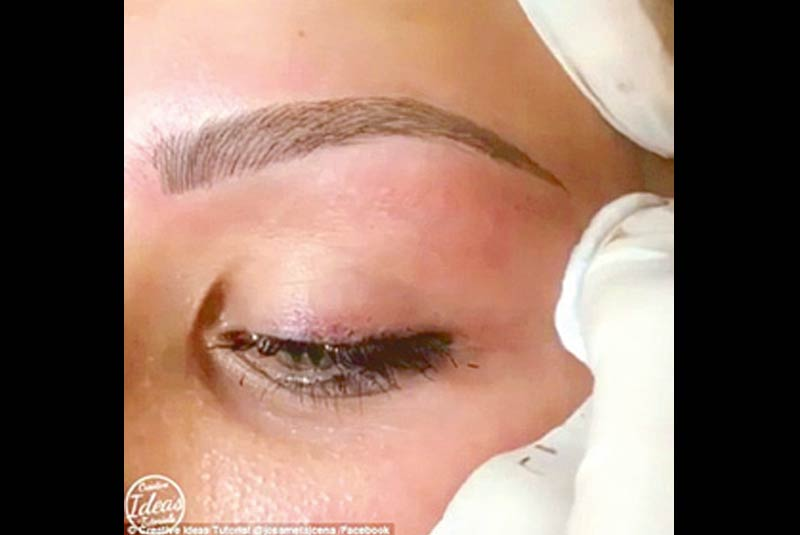 Take a brow: Eyebrow microblading is a relatively new semi-permanent makeup technique that has been generating waves in the beauty world.