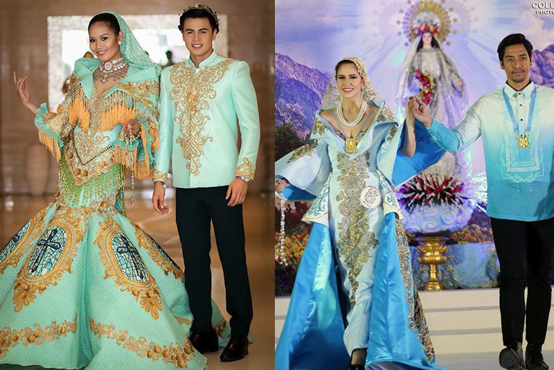 Filipino Designers Honor Our Lady Of Fatima In Flores De Mayo Fashion And Beauty Lifestyle
