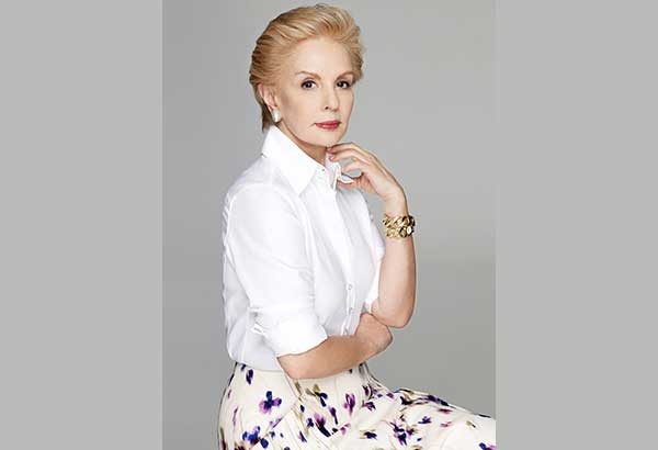 """Designer Carolina Herrera: """"I have a responsibility to the women of today, to make her feel confident, modern, and above all else, beautiful."""""""