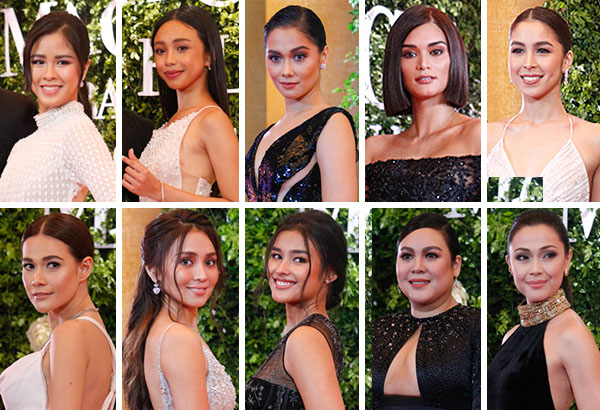 Nude or earthy makeup has been a popular choice among celebrities, as seen on these actresses that graced the recent Star Magic Ball. Philstar.com/EC Toledo IV