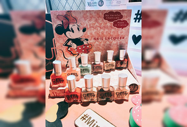 Cute collab: Disney partners with Girlstuff on the Minnie Mouse nail lacquer collection, available at Girlstufforever.com and Girlstuff kiosks and outlets.