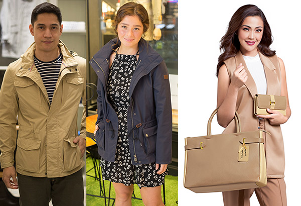 From left: Actors Victor Basa, Andi Eigenmann and Jodi Sta. Maria. Photo release