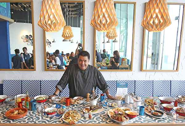 The chef is in: Chef Robby Goco of Cyma launches Souv, a new concept restaurant that's more fun, fresh, modern and progressive Greek. Photos by JUN MENDOZA