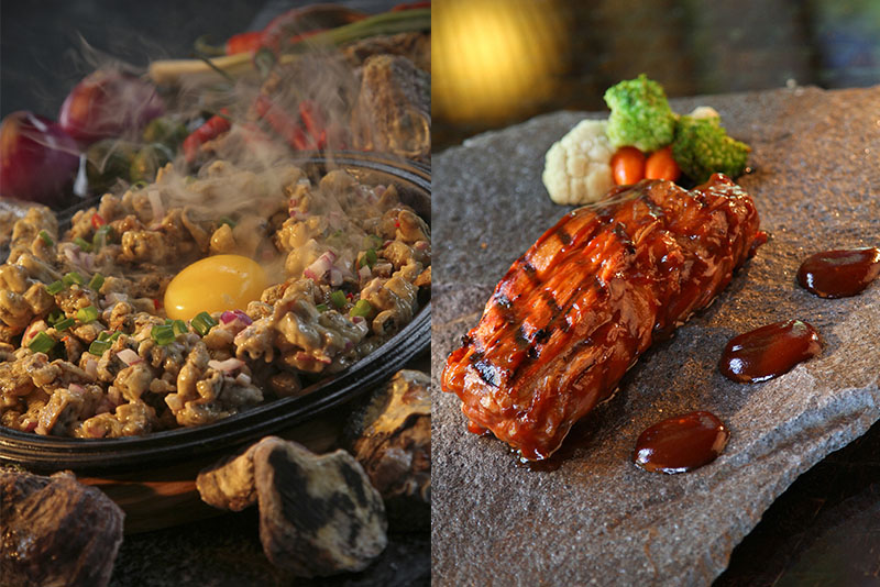 Lengua Sisig and Crocodile Barbecue at Two Seasons Palawan. Released