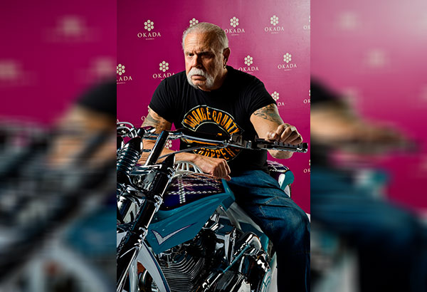 American Chopper's Paul Teutul Sr. creates custom choppers for Okada Manila: Paul Sr. is the founder of Orange County Choppers, known for meticulously fabricating lifestyle motorcycles for Hollywood celebrities and enthusiasts.