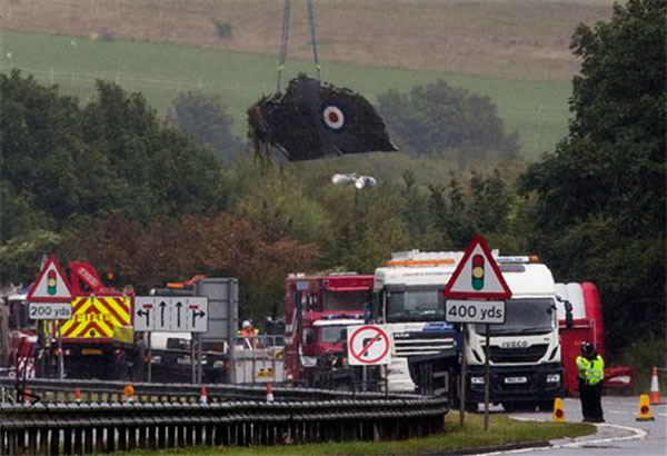 UK imposes curbs on vintage aircraft after air show crash