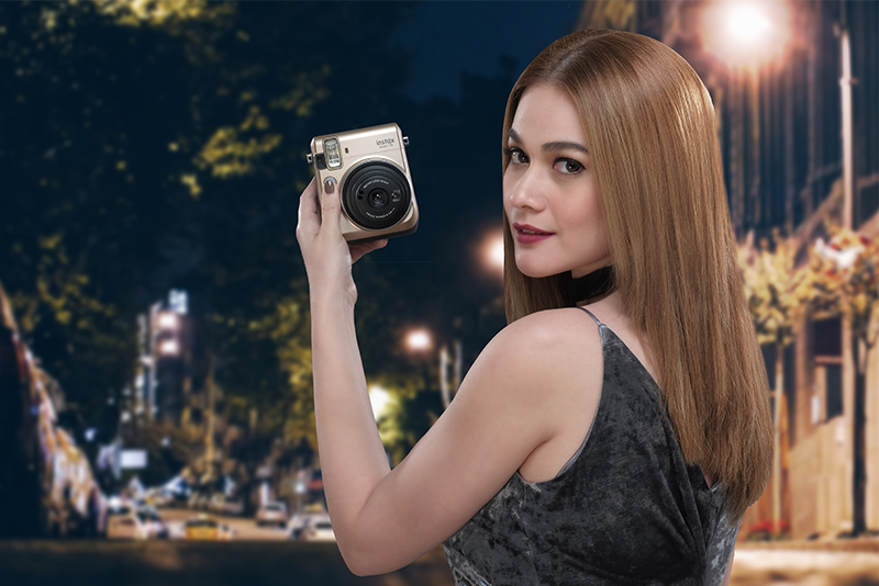 Actress, photography enthusiast and FujiFilm ambassador Bea Alonzo Photo release