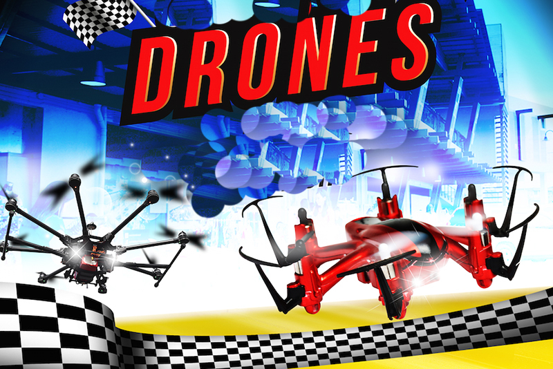 """On May 27, """"Game of Drones1stFlight,"""" claimed to be """"the country's biggest drone event,"""" will be held inCirculoVerde,Quezon City. Photo release"""