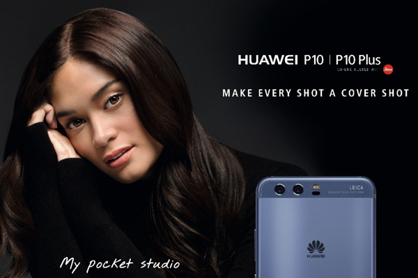 Former Miss Universe Pia Alonzo Wurtzbach shares three favorite features that she loves most in Huawei P10. Huawei/Released