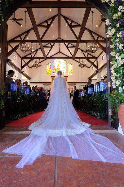 There Are Many Reception Options Within The Highlands Estate But For A Catholic Wedding At Madre De Dios Veranda Is Best Choice Due To