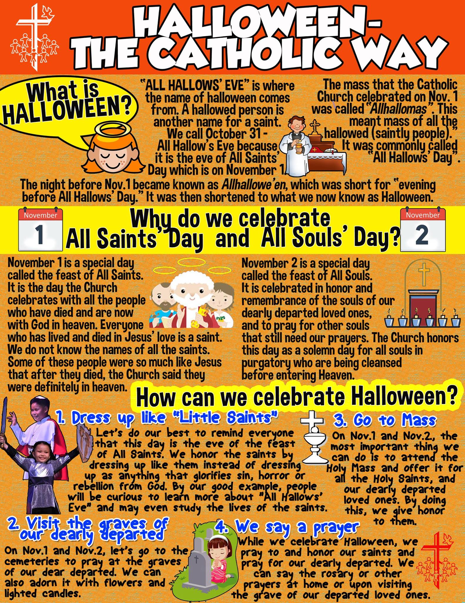 celebrate halloween in a holier way a list of saint inspired events philstarcom