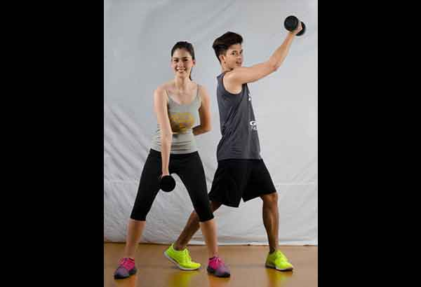 jason abalos amp vickie rushton staying fit as a couple