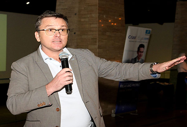 """Colin Madigan, Essilor director for education and professional services for Asia Pacific, Middle East, Russia, and Africa: """"Our new connected lifestyle just created extra work for our eyes."""""""