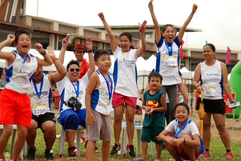 Thousands of families enjoy the fun weekend prepared for them by Lancaster New City in Cavite. Lancaster/Released