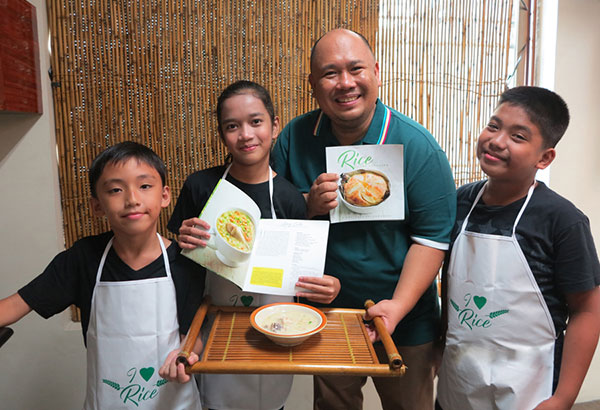 "Rice, rice, baby: ""Cooking rice helps ingrain in our children respect for our staple food and reconnect them with their culture,"" says chef Tatung Sarthou."