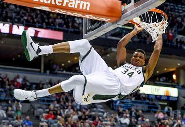 """Our goal is to take away the kids from the street and get them involved in sports and give them a basketball career,"" says Giannis Antetokounmpo."