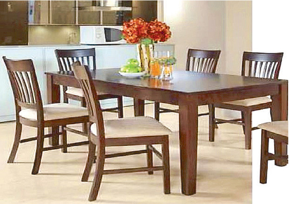 Wooden Dining Table For Sale Philippines lorenz  : dining table 11 from hotrodhal.com size 600 x 410 jpeg 108kB