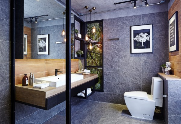 For Cotto Happiness At Home Begins In The Bathroom Modern Living Lifestyle Features The