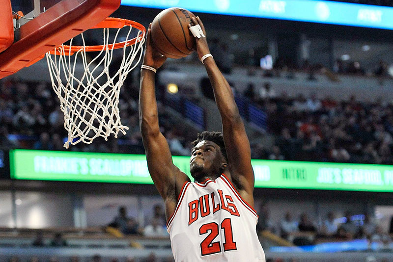 Jimmy Butler leads the Bulls to a win on Thursday