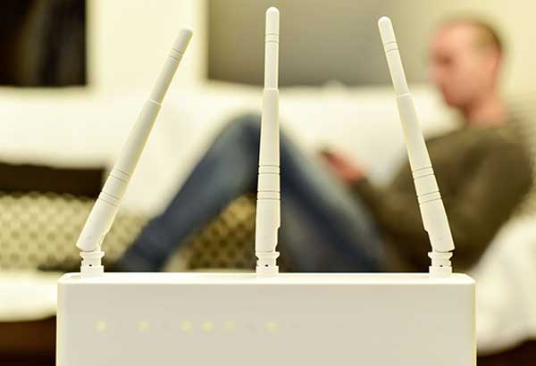 Just say no to dead spots: Wi-Fi connections are made better if routers are put in proper places.