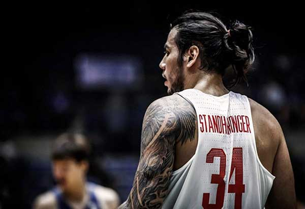 Christian Standhardinger is skipping Gilas Pilipinas' consolation round matches in the FIBA Asia Cup in Beirut to be with the Gilas cadet team as it opens its SEAG gold-medal quest versus Thailand here tomorrow.