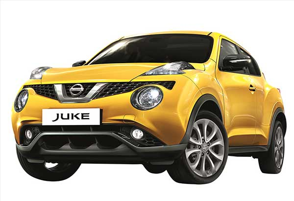 Say hello to yellow: The oh-so cute and cool Nissan Juke