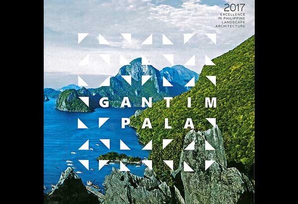 GantimPALA 2017 contains 38 designed landscapes including the eight winners for five project categories.