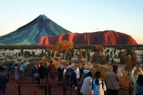 proxy - Mocha tranfers Mayon Volcano, netizens does it all over the world - Jokes and Humor