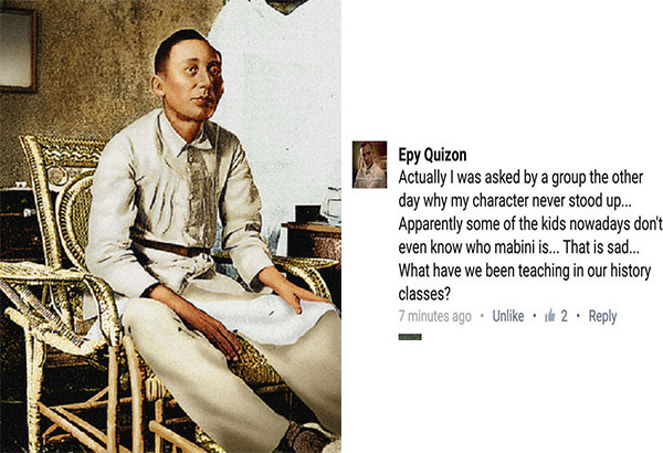 apolinario mabini to the filipino nation Apolinario mabini issued the true decalogue a ten point code of  if he were to become part of the movement and later of the filipino nation  unlike mabini.