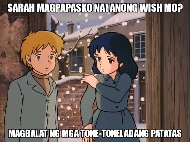 VIRAL: Memes of Princess Sarah with 'patatas' on the side