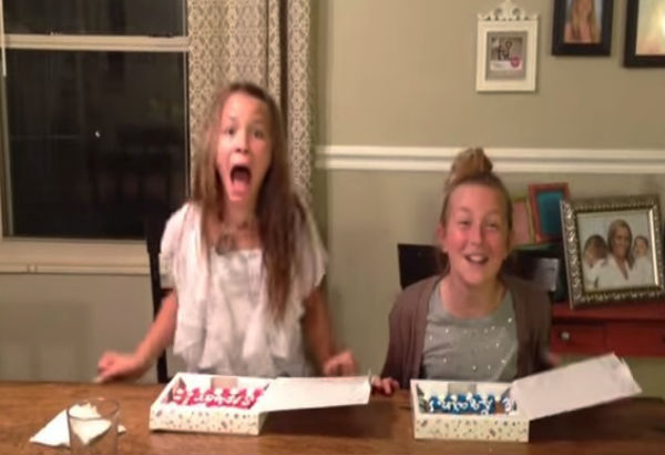 Video of the Day These sisters reaction to pregnancy – Baby Announcement Videos