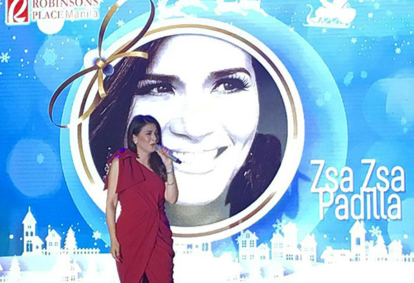 Zsa Zsa Padilla with special guest Richard Yap will have a holiday show at Robinsons Magnolia on December 10, 6pm.