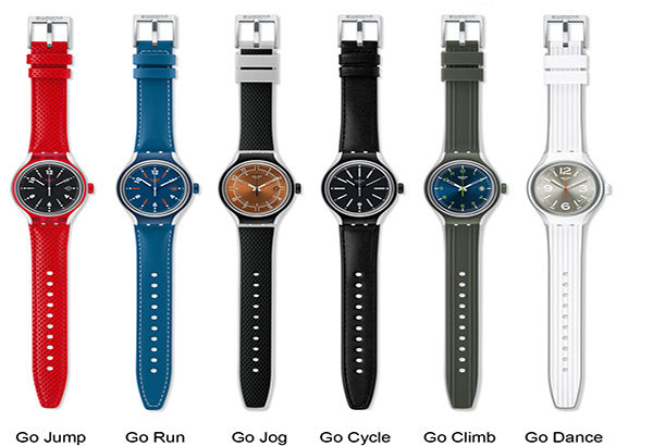 Collection Swatch Irony Irony Xlite is Swatch's Latest