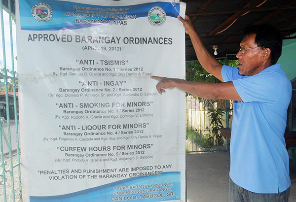 Pangasinan Barangay Goes After Gossipers Headlines News The Philippine St