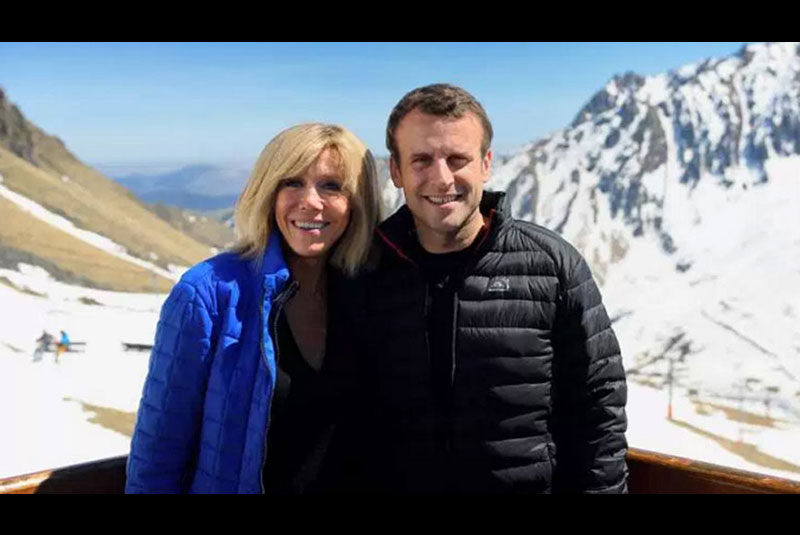 New French President EmmanuelMacron with his older wife Bibi: So what's 25 years age difference between a happy couple?